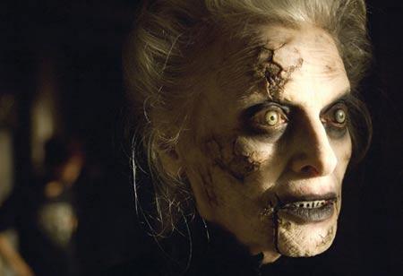 La protagonista de la película Silencio desde el mal Mary Shaw