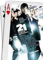Cartel de 21 Black Jack