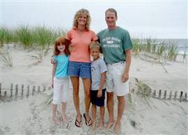 Brad y su familia