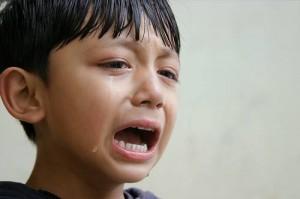 no es bueno llorar
