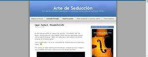 Arte de seduccion web