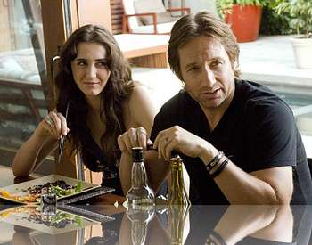 La musa para escribir de Californication